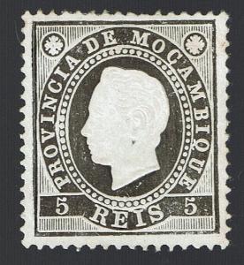 Mozambique 1886 D. Luis I Dent.13,5 MNG # 15