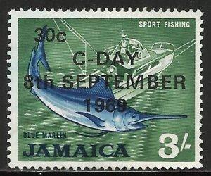 Jamaica 1969 Scott# 288 Used