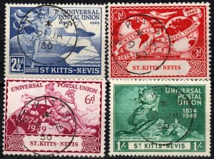 St Kitts-Nevis #95-8  F-VF Used CV $5.55 (X1380)