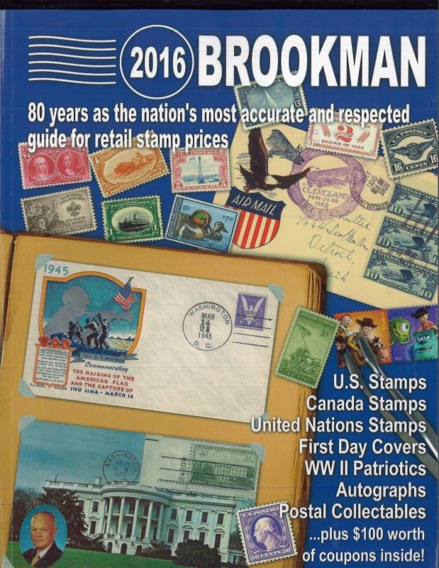 2016 Perfect Bound Brookman Price Guide Full Color - Brand New Full Color