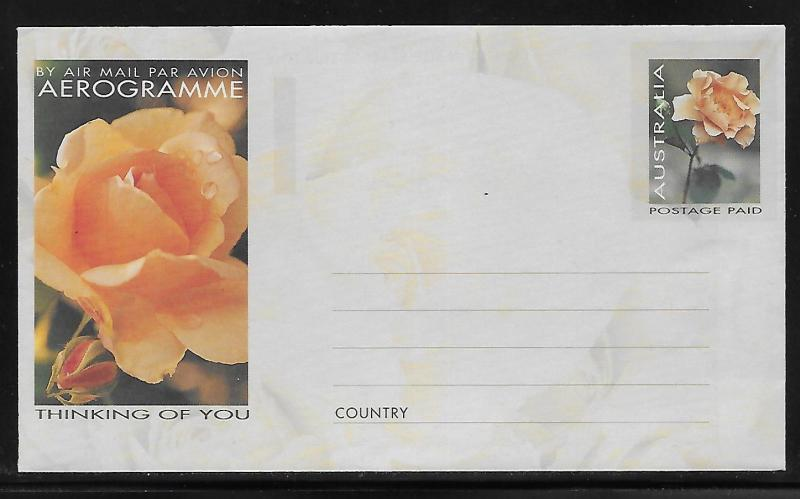 Australia Postal Stationary A118 Thinking of You Mint