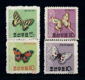 [71333] Korea 1962 Insects Butterflies  MLH