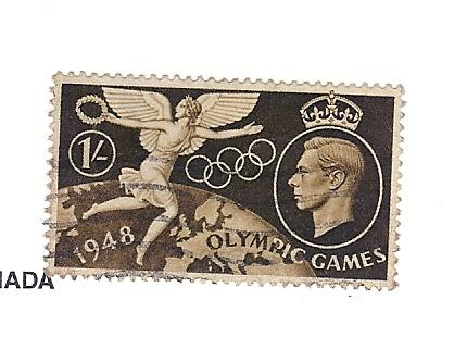 Great Britain (UK), 274, Olympic Games, Single XF, Used