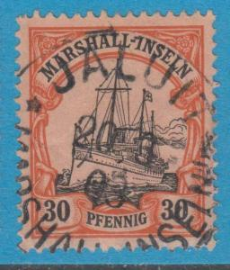 GERMAN COLONIES MARSHALL ISLANDS 18  USED NO FAULTS EXTRA FINE !