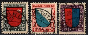 Switzerland #B15-7  F-VF Used CV $60.50 (X2418)