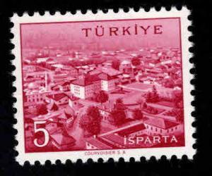 TURKEY Scott 1343 MNH** 26x20.5mm stamp