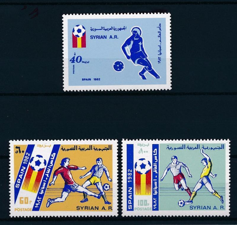 [59426] Syria 1982 World Cup Soccer Football Spain MNH