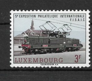 Luxembourg 1966 Electric locomotive BR 3600 of the CFL MNH**