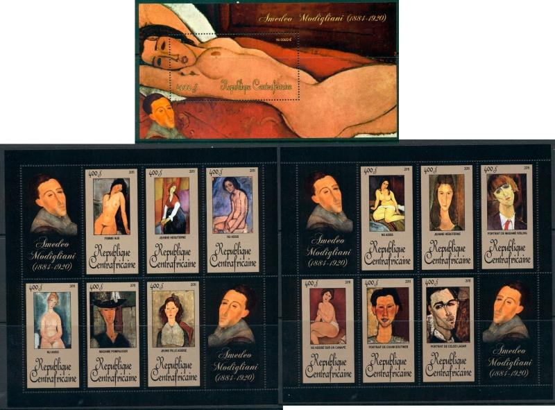 Art Nude Impressionist Middle Ages Erotic ULTIMATE COLLECTION 200 MNH sheets