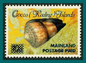 Cocos 1991 Surcharge 43c (2nd), MNH 229,SG235