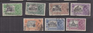 INDIA, 1935 Silver Jubilee set of 7, used..