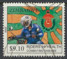 Zimbabwe SG 1035  SC#  867 Used  Health Campaign  see detail and scan
