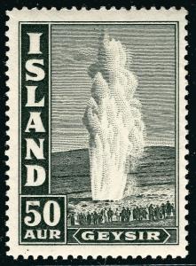 Iceland Attractive SC#208 Mint OG hr F-VF