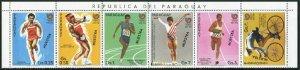 Paraguay 2195 af,2196a sheet SPECIMEN,MNH.Mi  4047-4052,4053 klb. Olympics Seoul