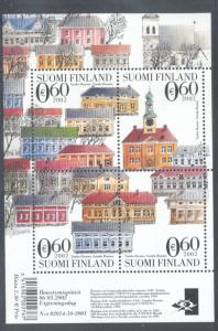 Finland Sc 1175 2002 Old Rauma UNESCO Heritage Site  stamp sheet mint NH