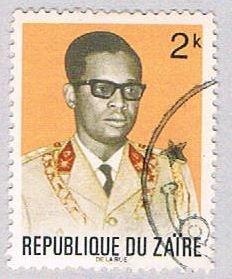 Zaire 760 Used Mobutu 1972 (BP38624)