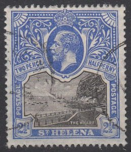 St. Helena 63 Used CV $9.00