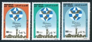 Iraq 1118-1120,MNH. Baghdad International Fair.1983.