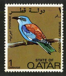 QATAR 279 MNH SCV $2.00 BIN $1.25 BIRD