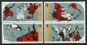 Isle of Man IOM Year of Rat 2020 Stamps MNH Chinese Lunar New Year 4v Set