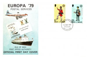 Isle of Man, Worldwide First Day Cover, Europa