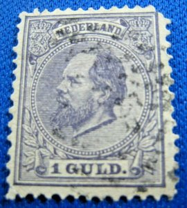 NETHERLANDS 1888  -  SCOTT # 32       USED     (XN2)