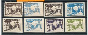 BRIDGES - España - HISTORIA POSTAL: FUENGIROLA sellos beneficos Allepuz 34/42