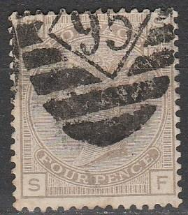 Great Britain #84 F-VF Used CV $67.50  (A2992)