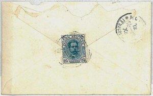 ITALIA REGNO:  storia postale - BUSTA per MOSCA MOSCOW - 1899