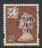 Great Britain Wales  SG W80 SC# WMMH74 Used  see details 1 bands
