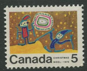 STAMP STATION PERTH Canada #522 Christmas 1970 MNH CV$0.30