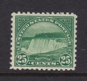 568 VF original gum mint never hinged with nice color ! see pic !