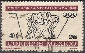 Mexico 975 (used) 40c Olympics