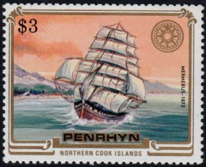 ✔️ PENRHYN 1984 - SHIPS MERMERUS - SC. 284 ** MNH $7 [ST2.83A]