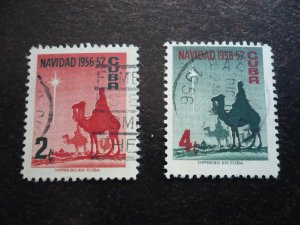 Stamps - Cuba - Scott# 562-563 - Used Set of 2 Stamps
