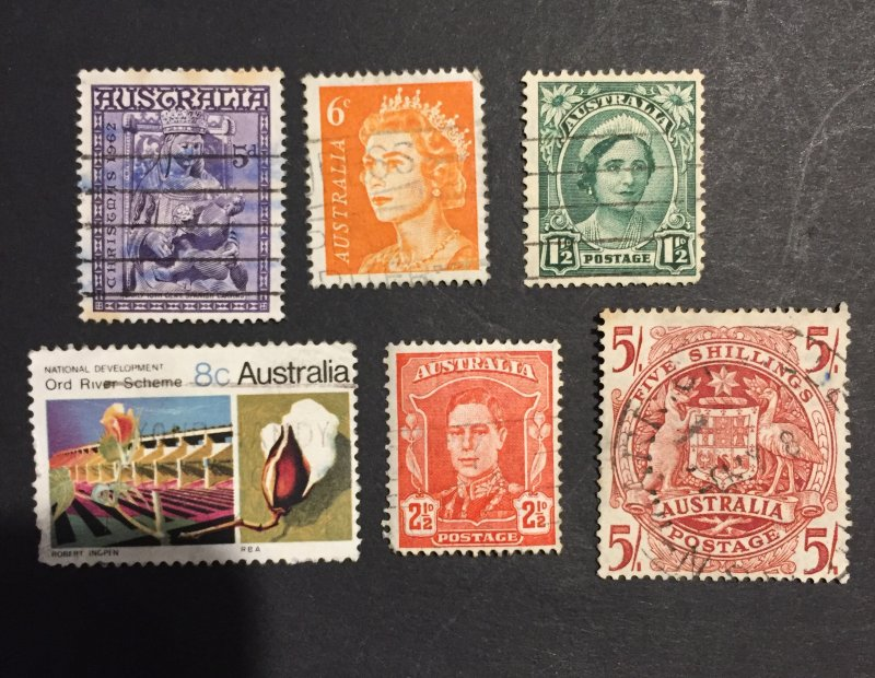 Australia stamps mixed lot
