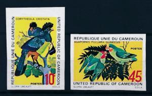 [64349] Cameroon Cameroun 1972 Birds  Imperf. MLH