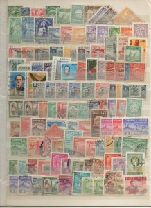 BOLIVIA 1940 - 1960 STAMP SELECTION SINGLES & SHORT SETS 240 STAMPS F