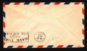 Canada 1930 FFC Moose Jaw to Calgary - L2086