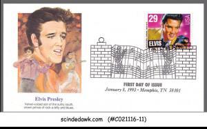 USA - 1993 ELVIS PRESLEY / ROCK MUSIC - FDC