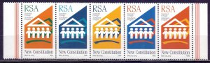 South Africa. 1996. sc 1011-15. Constitution is new. MNH.