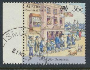 SG 1059  SC# 1024a  Used  - Australian Settlement 6th Issue