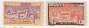 Guadeloupe, Scott #96-97, MH