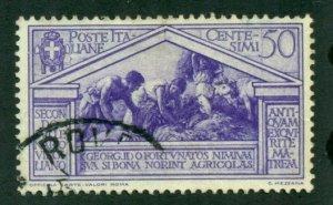 Italy 1930 # 252 U SCV(2020)=$0.80