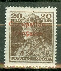 M: Hungary 1N7 mint CV $50