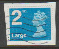 GB QE II Machin SG U2969 - 2nd brt blue -  M11L - Source  B