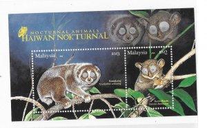 Malaysia 2008 Nocturnal animals Sc 1192 MNH Bo22
