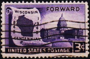 U.S.A. 1948 3c S.G.954 Fine Used