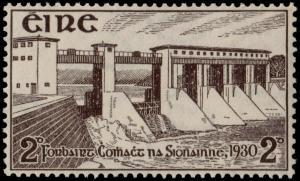 ✔️ IRELAND 1930 - SHANNON DAM - SC. 83 MNH OG [SK105]