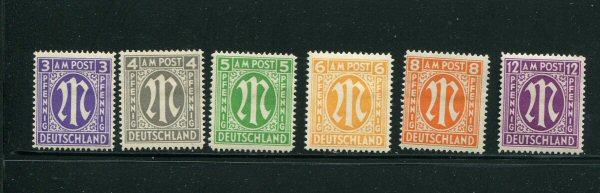 Germany #3N2b-8b Mint